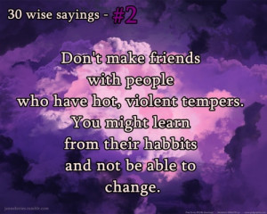 Wise Sayings About Friends 3 - 30 wise sayings