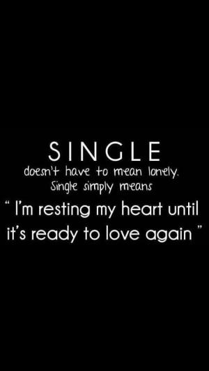 Single ladies, single men #selflove