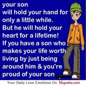 Cute quotes about loving your son