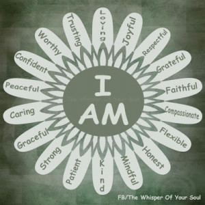 am worthy, grateful, mindful and strong.