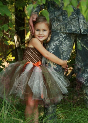 Daddy's Lil' Hunting Buddy cute father daughter picture idea