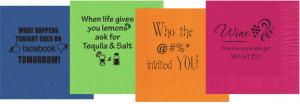 ... | Funny Napkin Sayings | Funny Cocktail Napkins | Humorous Napkins