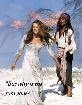 Quote in Pirates of the Caribbean by Jack Sparrow...