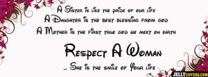 respect woman