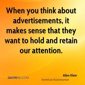 Allen Klein Quotes
