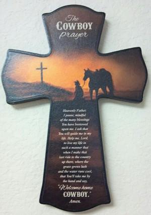 Cowboy prayer: Cowboy Quotes, Feelin Crafty, Crosses Obsession, Cowboy ...