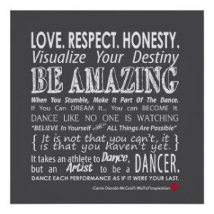 Dance Quotes Posters