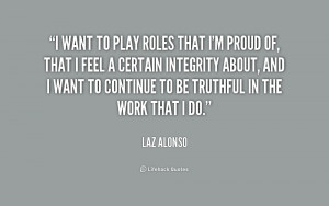 Laz Alonso Quotes