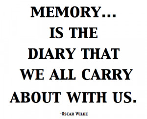 quotes and sayings about memories