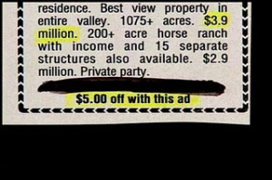 via For Sale by Typo-Challenged Owner: Funny Real Estate Ads – The ...