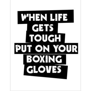 ... put your boxing gloves quotes profile facebook covers quotes 2013 04