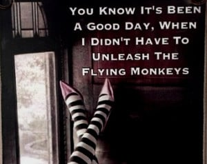 Flying Monkeys 5'' x 7' ' Picture Plaque Or Fridge Magnet / Beautiful ...