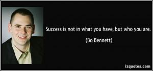 More Bo Bennett Quotes