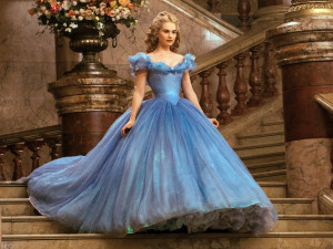 Real-Life 'Cinderella' Lily James Gives Credit To Her Genes And Corset ...