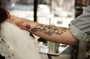 tattoo tattoos wrist tattoo forearm tattoo words tattoo quote tattoo ...