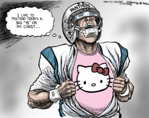 ... for Cam Newton to quickly go from hero to goat in Carolina