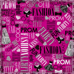... Foster Design - Prom Collection - 12 x 12 Paper - Prom Chic Collage