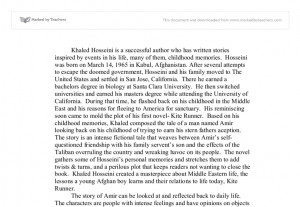kite runner quote essay Essay - the kite runner one of the kite runner's major themes is the search for redemption when rahim khan speaks of baba, he says,  good, real good, was born out your father's.