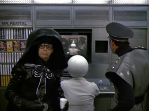 Photo of Dark Helmet , as portrayed by Rick Moranis, from