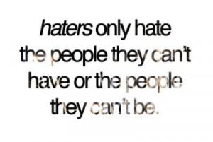 Six top tips for dealing with haters