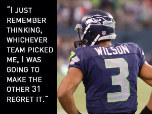 Russell Wilson!