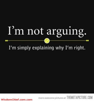not arguing funny sarcastic quote very funny quote about love cute ...