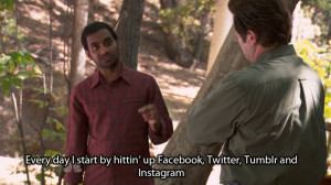 parks and recreation aziz ansari