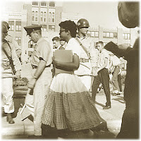 ... and will always remember that Elizabeth Eckford faced that mob alone