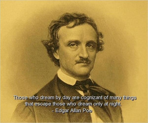 Edgar allan poe best quotes sayings wisdom witty brainy