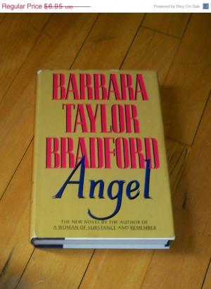 SPRING SALE Barbara Taylor Bradford Angel Novel Book 1993 Vintage