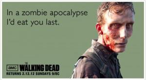 Walking Dead Valentine Cards