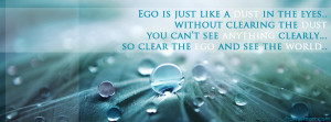 Ego Quotes Facebook Timeline Cover