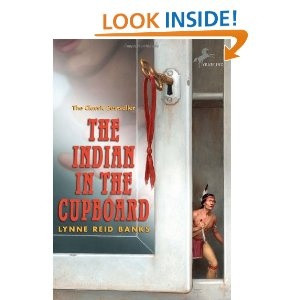 The Indian in the Cupboard by Lynne Reid Banks i loved the book as ...