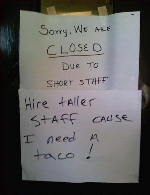 If you enjoyed this, check out our Funny Signs Gallery