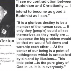 Thomas Merton quote.