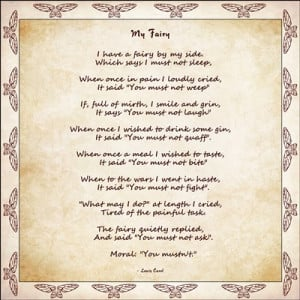 Fairy Poems And Sayings...
