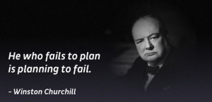 Winston Churchill Quote If You Fail to Plan