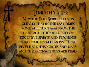 Timothy 4:1-2 (New Living Translation)