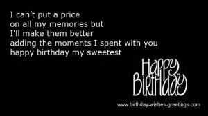cute birthday quotes for him