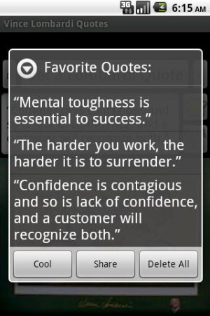quotes of Vince Lombardi! Vince Lombardi has quotes about true winners ...