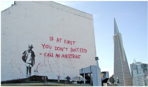 Selected Works . Below are some samples of the work that Banksy has ...
