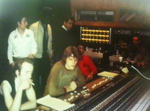 The Clash Futura 2000 Fab 5 Freddy and Dondi White recording in the ...