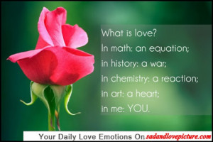 Chemistry Love Quotes Love quotes with pictures