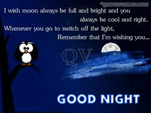 Wish Moon Always Be Full And Bright And You Always Be Cool And Right