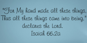 Famous Quotes From Isaiah
