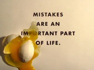 Fears come in all sizes and shapes. The fear of making a mistake is at ...
