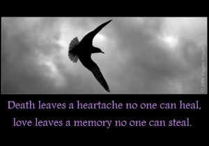 Death Quotes And Sayings For Loved Ones Death quotes and sayings :