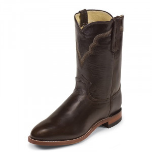 Justin Chocolate Ice Roper Mens Cowboy Boots 3501 view 1 ?>