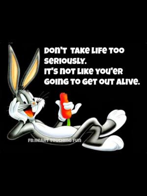 Bugs Bunny wisdom