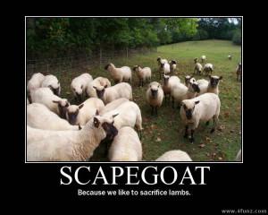 Scape goat